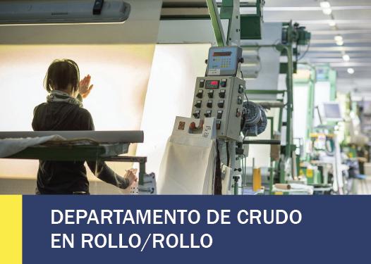 DEPARTAMENTO DE CRUDO EN ROLLO-ROLLO