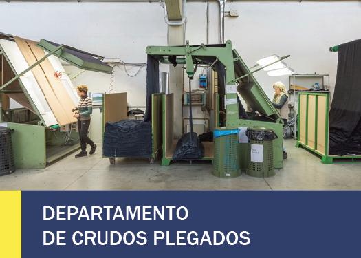 DEPARTAMENTO DE CRUDOS PLEGADOS