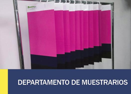 DEPARTAMENTO DE MUESTRARIOS