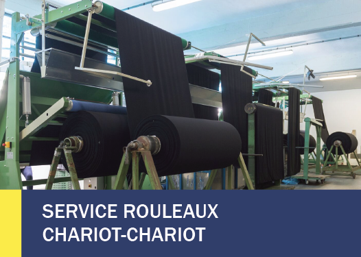 SERVICE ROULEAUX CHARIOT-CHARIOT