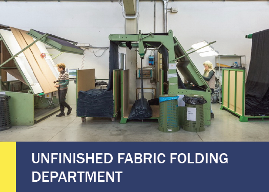 UNFINISHED FABRIC FOLDING DEPARTMENT